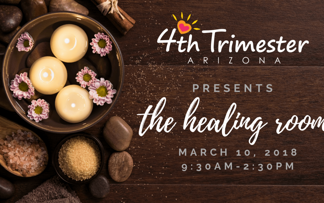 The Healing Room at 4th Trimester Arizona Conference-2018